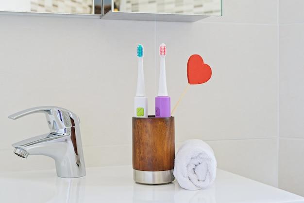 Zahnbürste für die persönliche zahnpflege