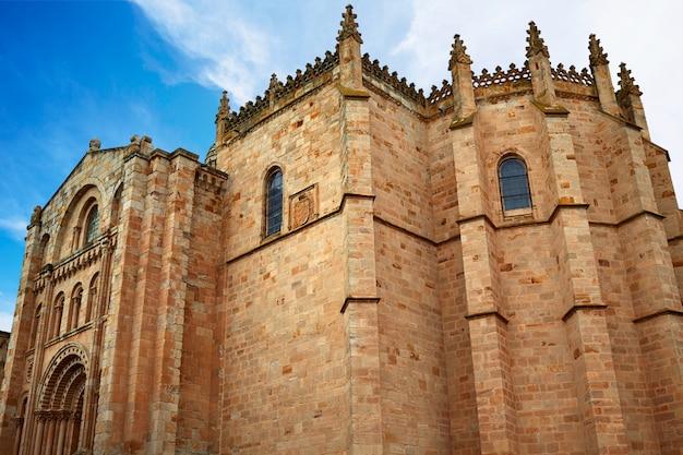 Zamora san salvador kathedrale in spanien