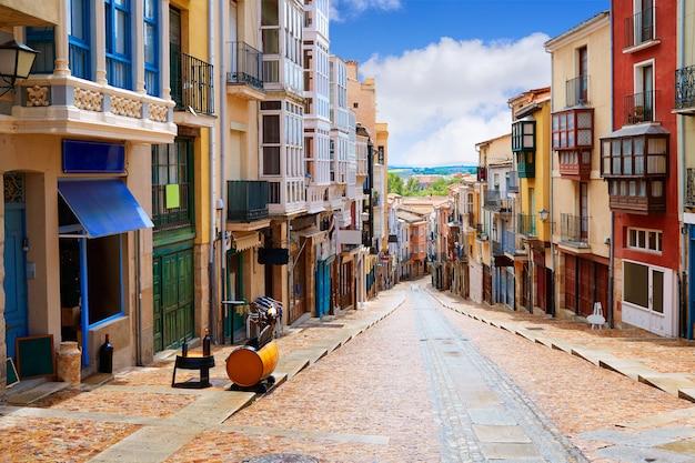 Zamora straße balboraz in spanien über de la plata