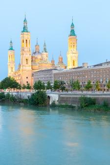 Zaragoza-basilika spanien