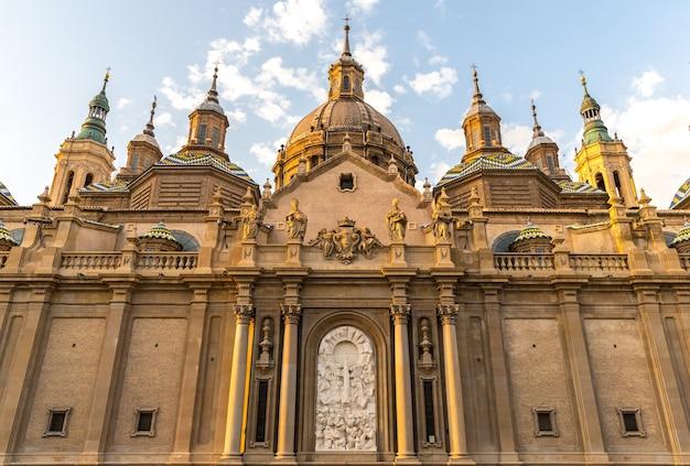 Zaragoza-basilikakathedrale spanien