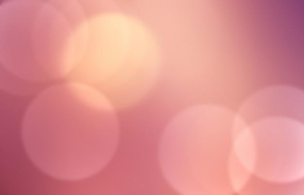 Zarter rosa bokeh-effekt als hintergrund im vollbildmodus