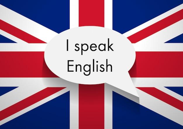Zeichen, das englisch spricht