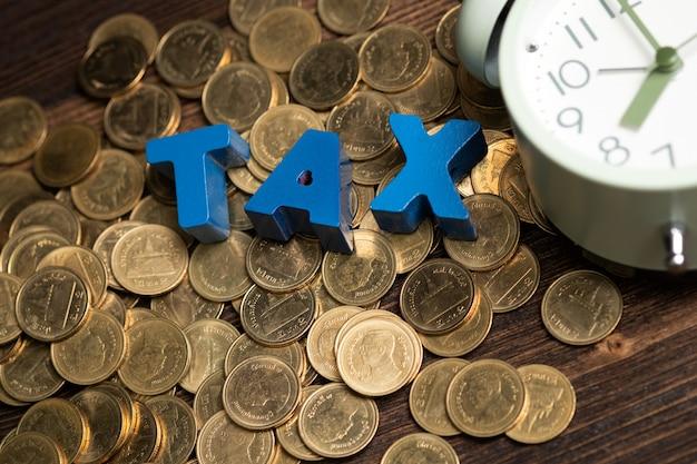 Zeit, das tax-konzept zu zahlen