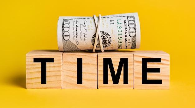 Zeit mit geld
