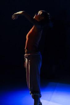 Zeitgenössische tanzperformance