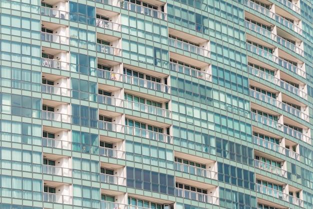 Zeitgenössischer kondominiummusterhintergrund