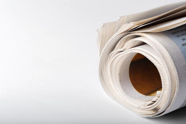Zeitung hautnah