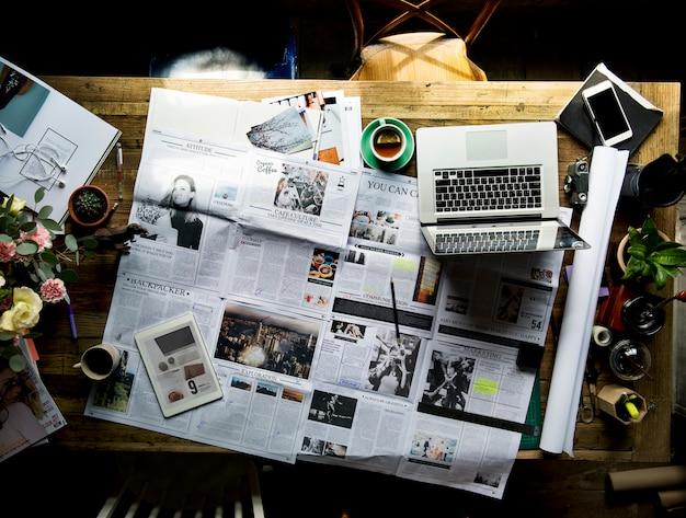 Zeitungsartikelaktualisierung überprüfung der veröffentlichungsabteilung