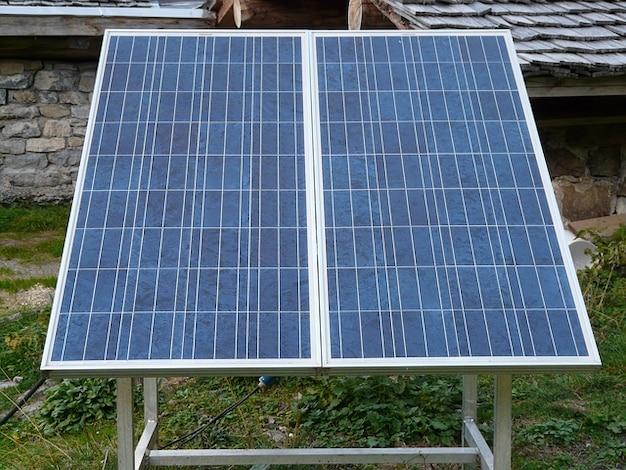 Zellen energie derzeitige system solartechnik