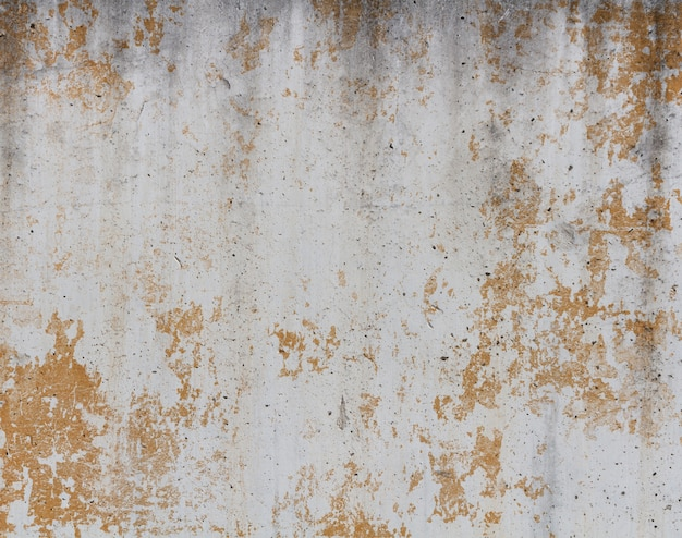 Zement beschädigten wand