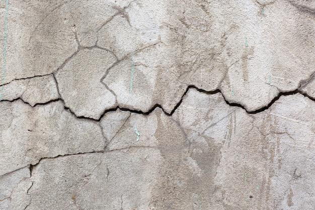 Zement rissiger texturhintergrund
