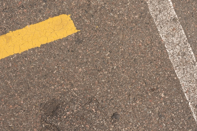 Zementboden für eine straße draußen