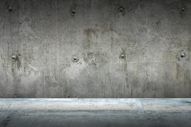 Zementboden und wandhintergrund
