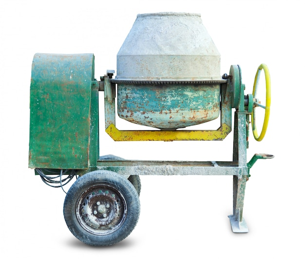 Zementmischer-maschine