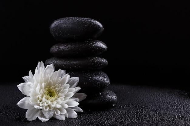 Zen basaltsteinen