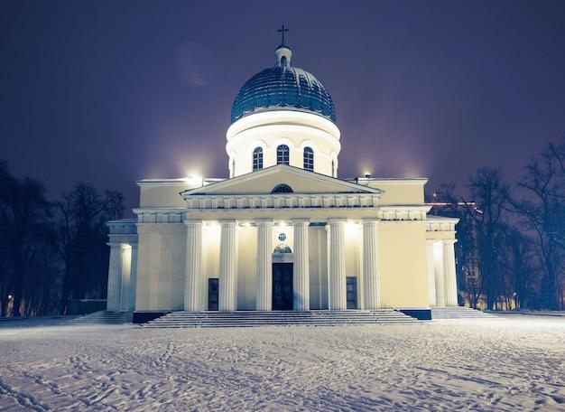Zentrale kathedrale der geburt christi in moldawien