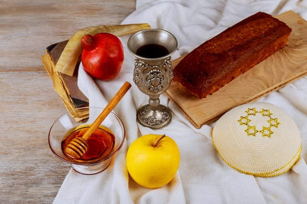 Zeremonie des treffens des jüdischen neuen jahres
