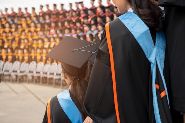 Zeremonien von hochschulabsolventen