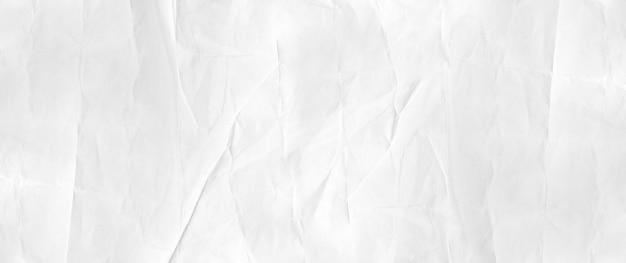 Zerknitterte papierstruktur. banner hintergrund