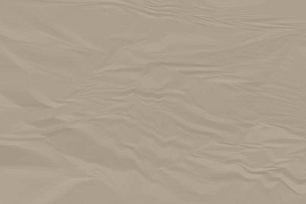 Zerknitterter hintergrundabschluß des braunen papiers oben