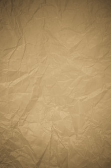 Zerknitterter papierrecyclinghintergrund.