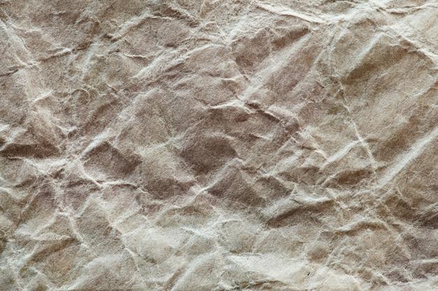 Zerknittertes bastelpapier, makro-nahaufnahme