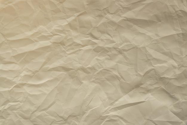 Zerknittertes papier. detaillierte hochauflösende textur. abstrakter hintergrund für tapeten.
