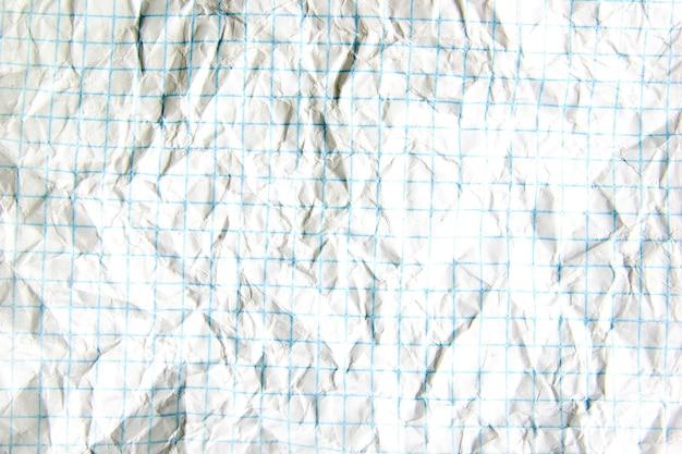 Zerknittertes papier ideal für texturen und hintergründe background