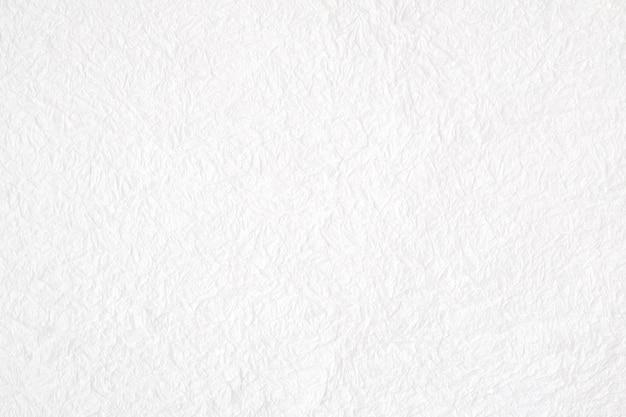 Zerknittertes weißes maulbeerpapier maserte hintergrund