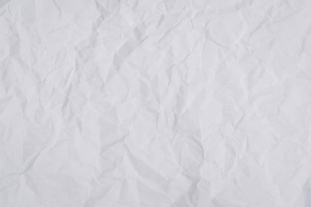 Zerknittertes zerknittertes papier