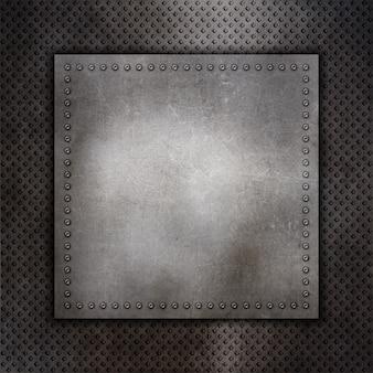 Zerkratzt metall-hintergrund