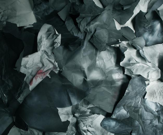 Zerrissenes farbiges papier, textur, hintergrund, kunst