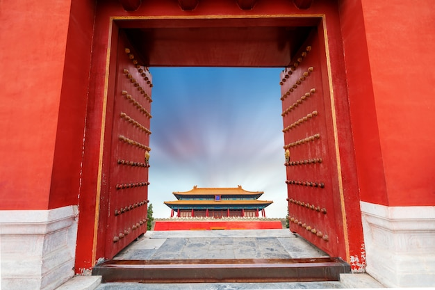 Zhai palast in peking