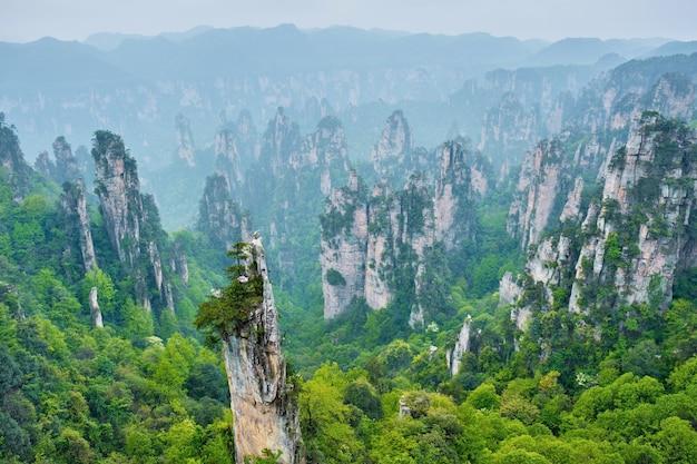 Zhangjiajie berge china