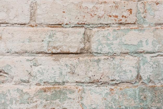 Ziegelsteinbeschaffenheit mit kratzern und rissen