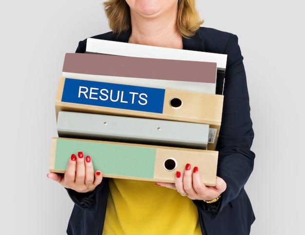 Ziele zielen auf geschäftskonzept für die arbeit ab