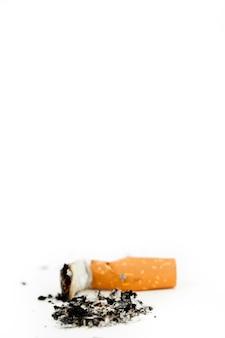 Zigarette gelöscht