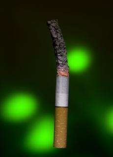 Zigarette, lungen-