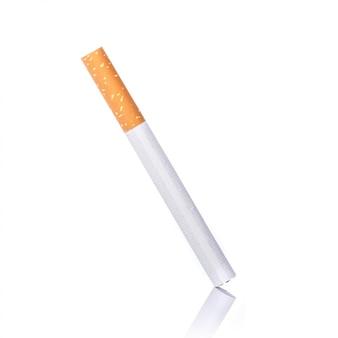 Zigarette. studioaufnahme isoliert