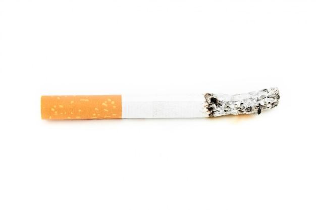 Zigarette verbraucht