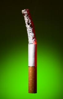 Zigarette zu stoppen