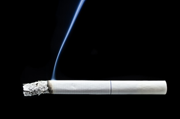 Zigarettenrauch zigarettenstummel