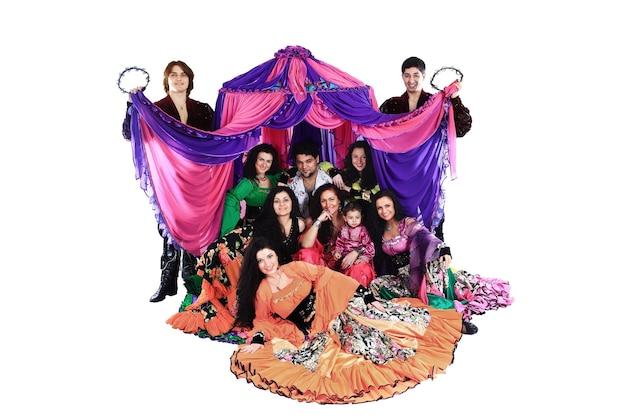 Zigeunertanzgruppe eine tanzshow