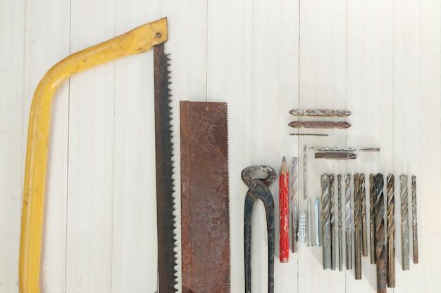 Zimmermannswerkzeuge