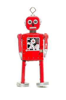 Zinn spielzeugroboter