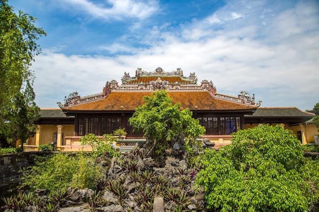 Zitadelle, imperial royal palace, verbotene stadt in hue, vietnam