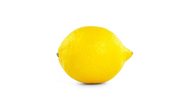 Zitrone isoliert.