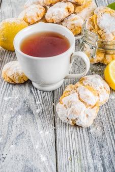 Zitrone-windung-plätzchen