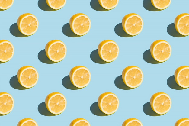 Zitronenscheiben-muster